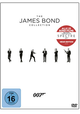 The James Bond Collection - DVD-Box