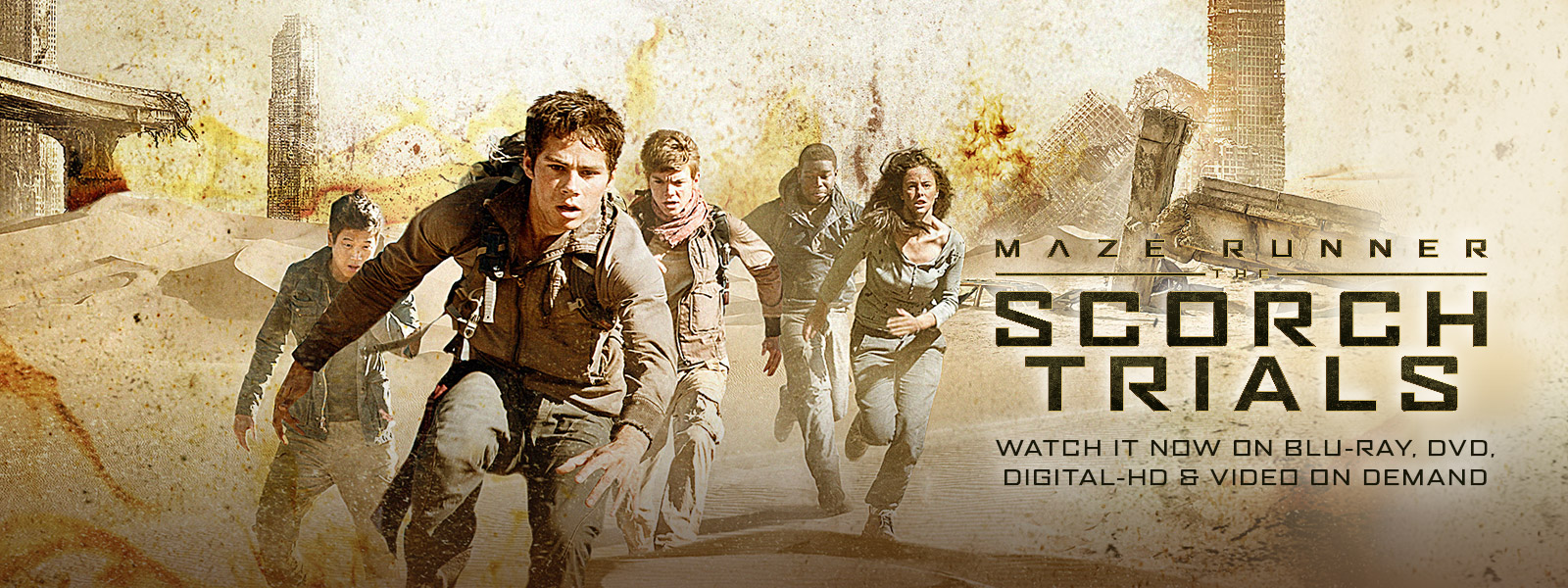 Maze Runner: The Scorch Trials - Watch it now on Blu-ray, DVD, Digital HD & Video on Demand