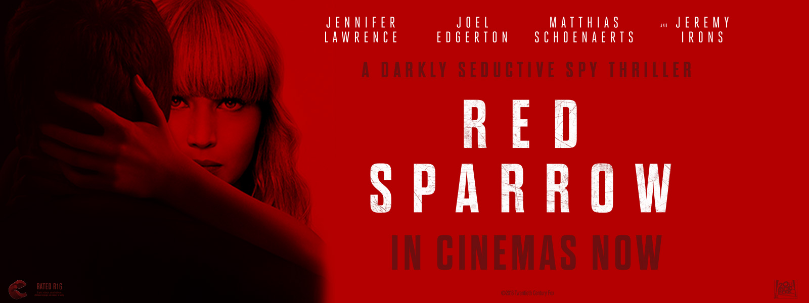 Red Sparrow HP Marquee