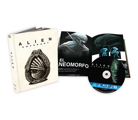 Alien Covenant en Digibook Blu-ray