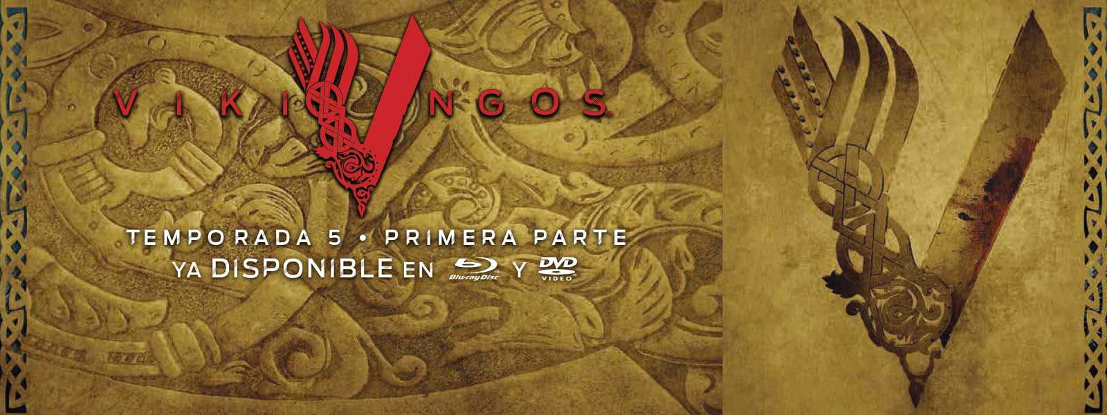 Vikingos Temporada 5, Volumen 1. Ya disponible en Blu-ray y DVD