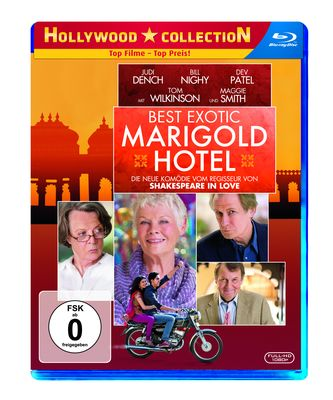 Best Exotic Marigold Hotel Blu-Ray