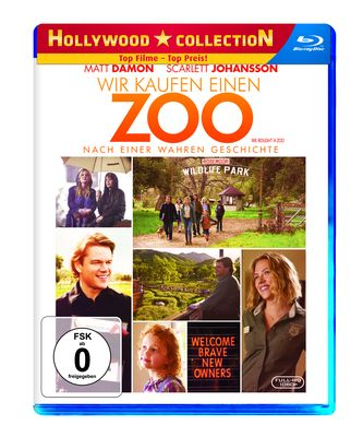 Wir kaufen einen Zoo Hollywood Collection Blu-Ray