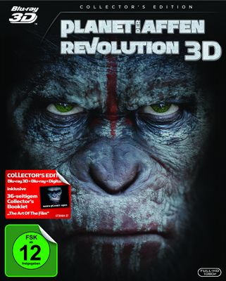 Planet der Affen - Revolution (Blu-ray 3D)