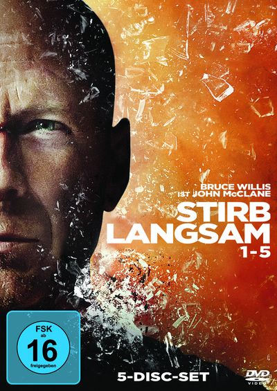 Stirb Langsam 1-5 (DVD-Box)