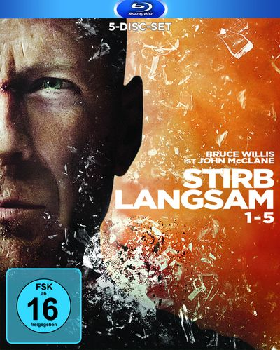 Stirb Langsam 1-5 (Blu-ray-Box)