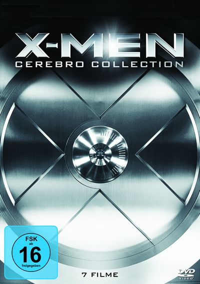 X-men: Cerebro Collection (DVD-Box)