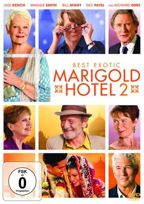 Best Exotic Marigold Hotel 2 (DVD)