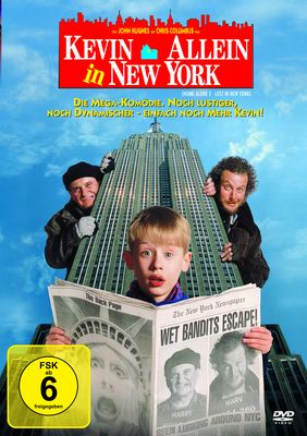 Kevin allein in New York DVD