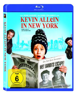 Kevin allein in New York Blu-Ray