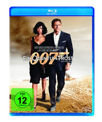 James Bond 007 – Ein Quantum Trost (Blu-ray)