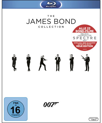 The James Bond Collection (Blu-ray-Box)