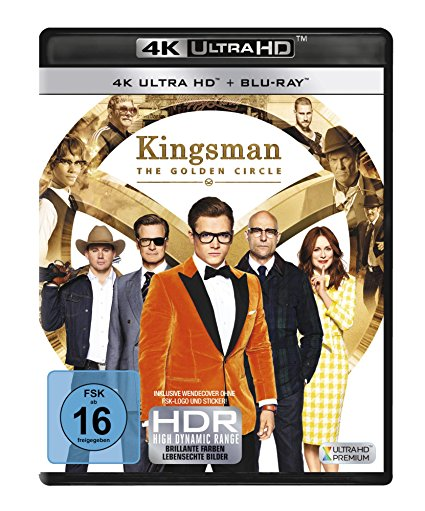 Kingsman - The Golden Circle (4K Ultra HD)