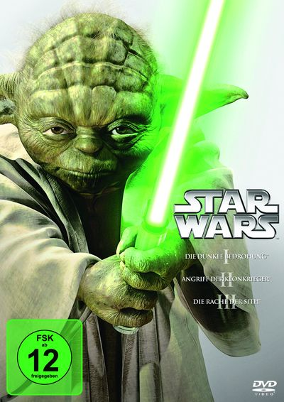 Star Wars: Trilogie - Der Anfang Episode 1-3 (DVD-Box)