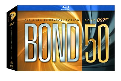 James Bond 007 - Jubiläums Collection inkl. Skyfall (Blu-ray-Box)