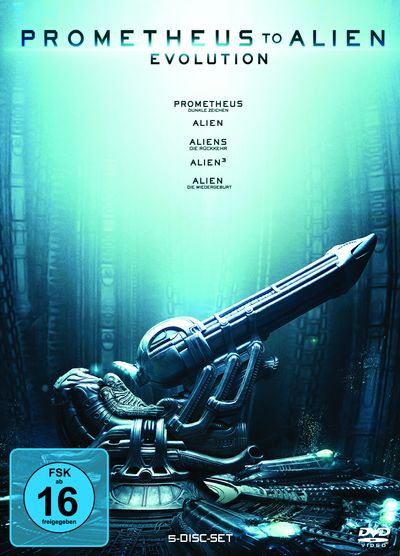 Prometheus to Alien – Evolution Box (DVD-Box)