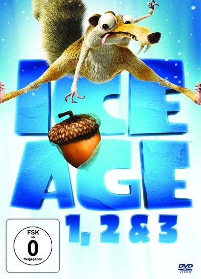 Ice Age 1, 2 & 3 (DVD-Box)