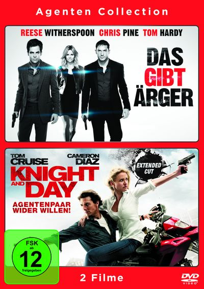 Agenten Collection: Das gibt Ärger & Knight and Day (DVD-Box)