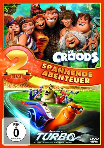 Croods & Turbo (DVD-Box)