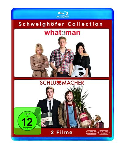 Schweighöfer Collection: What a Man & Schlussmacher (Blu-ray-Box)