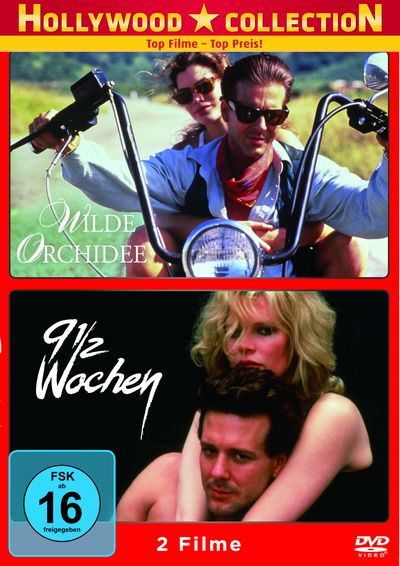 Mickey Rourke Collection: Wilde Orchidee & 9 1/2 Wochen (DVD-Box)