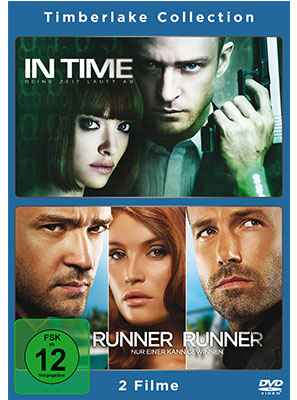 Justin Timberlake Collection: In Time & Runner Runner (DVD-Box)
