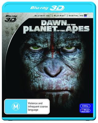 DAWN OF THE PLANET OF THE APES (2014) 3D Blu-Ray