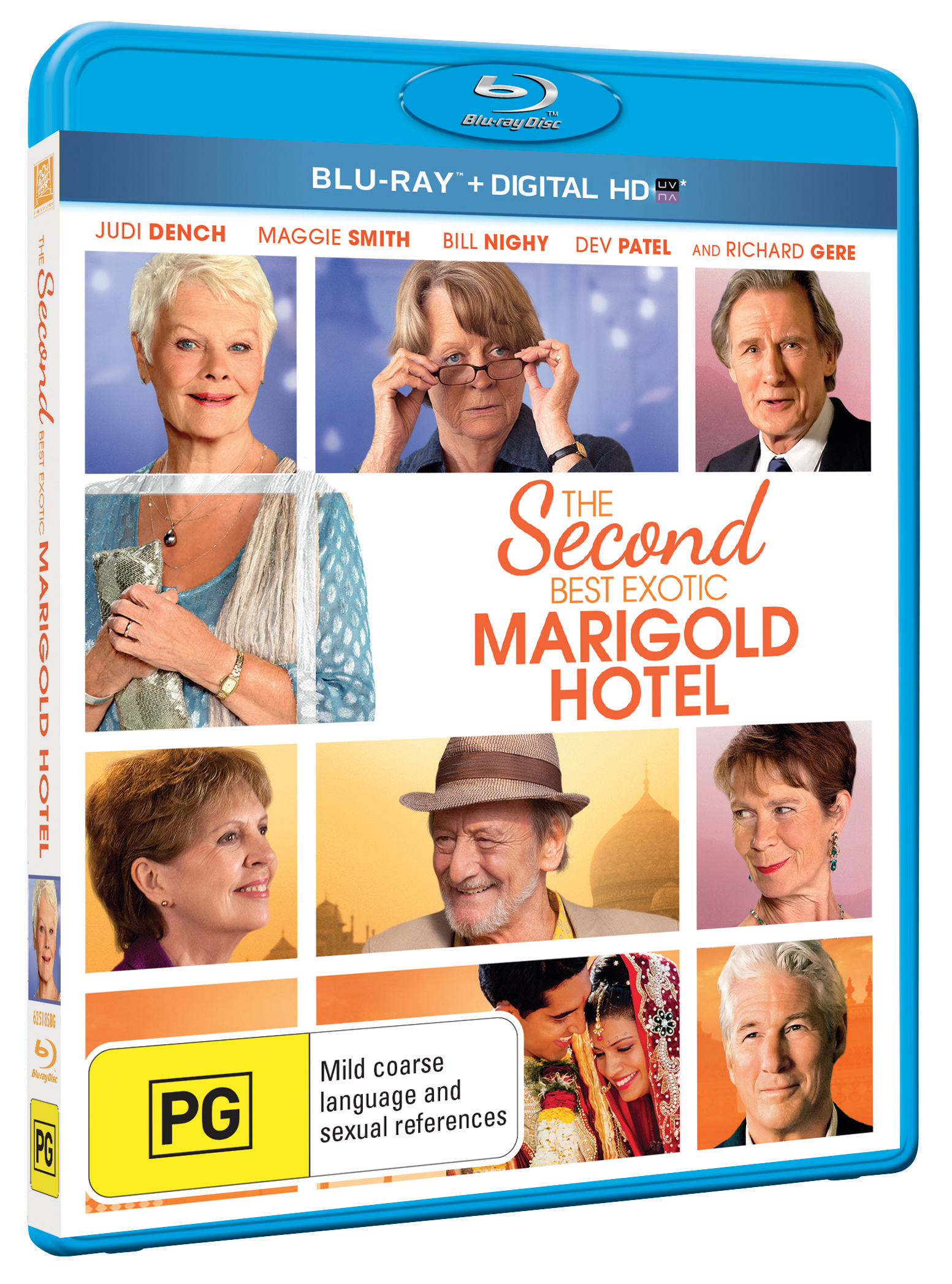 SECOND BEST EXOTIC MARIGOLD HOTEL, THE Blu-Ray