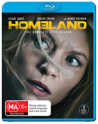 HOMELAND SEASON 5 Blu-Ray