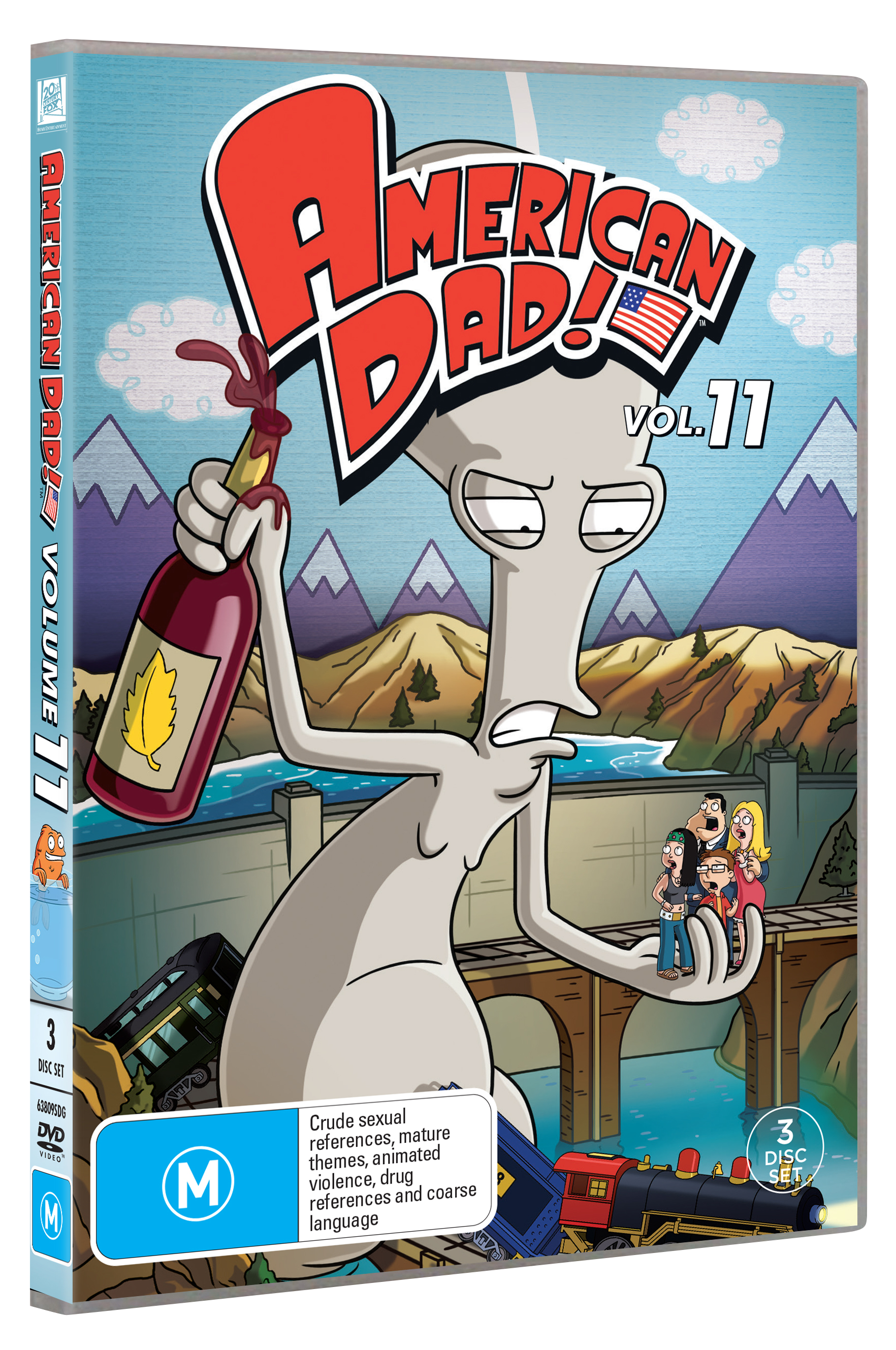 AMERICAN DAD SEASON 11 DVD