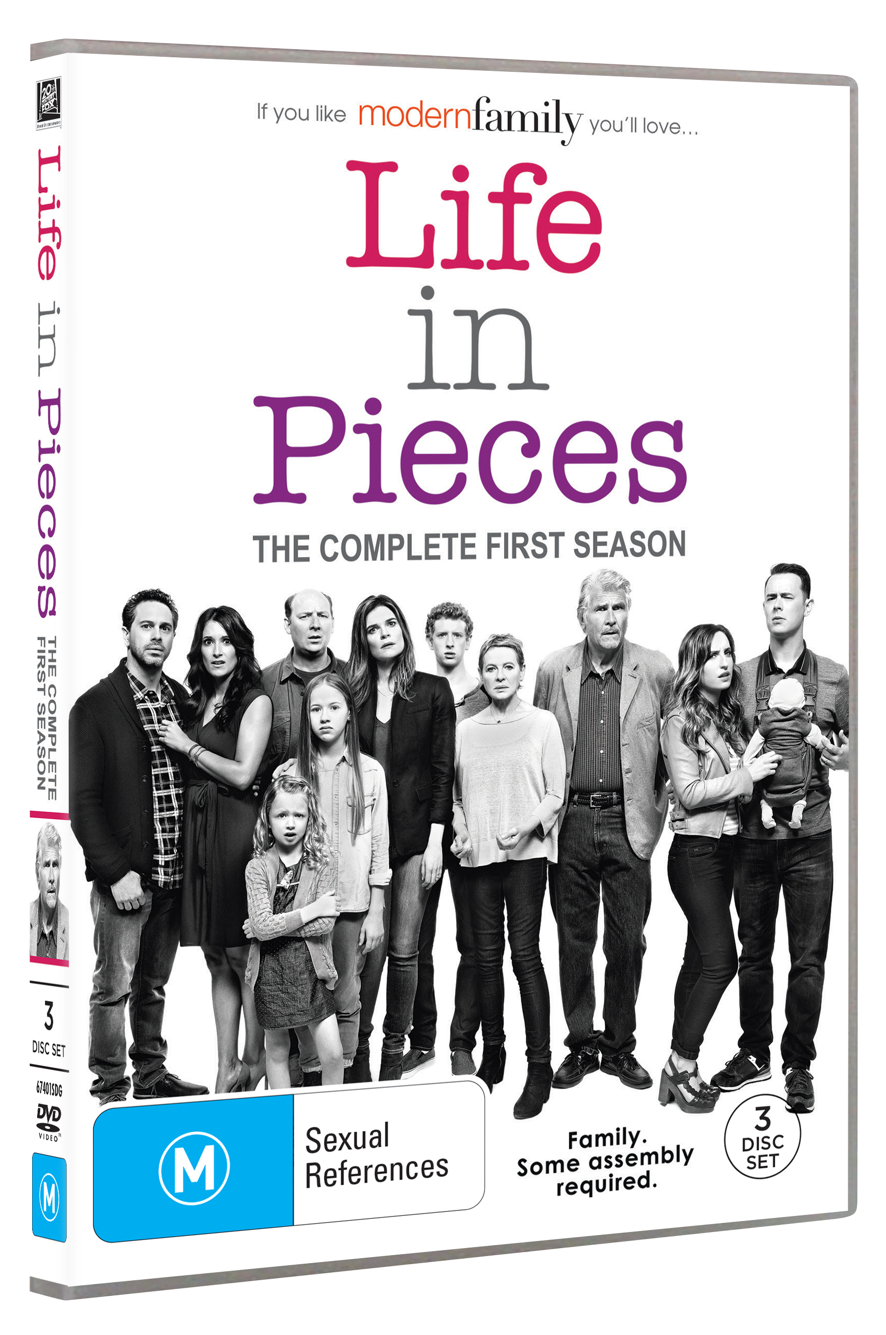 LIFE IN PIECES SEASON 1 DVD