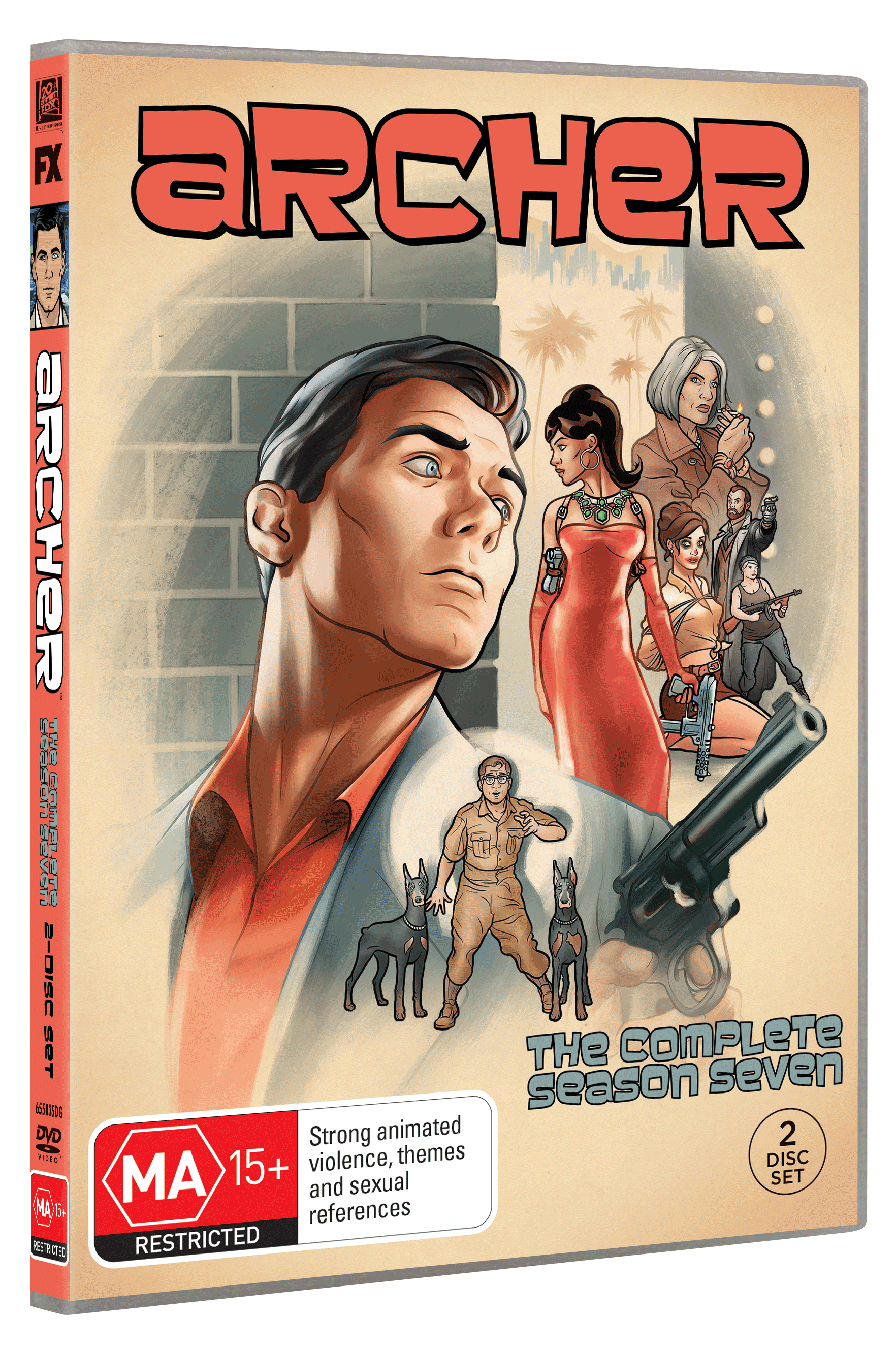 ARCHER SEASON 7 DVD