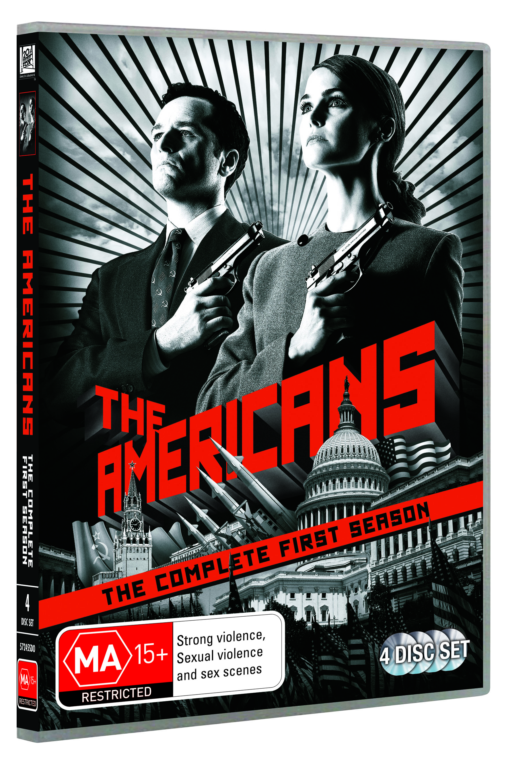AMERICANS, THE SEASON 1 DVD