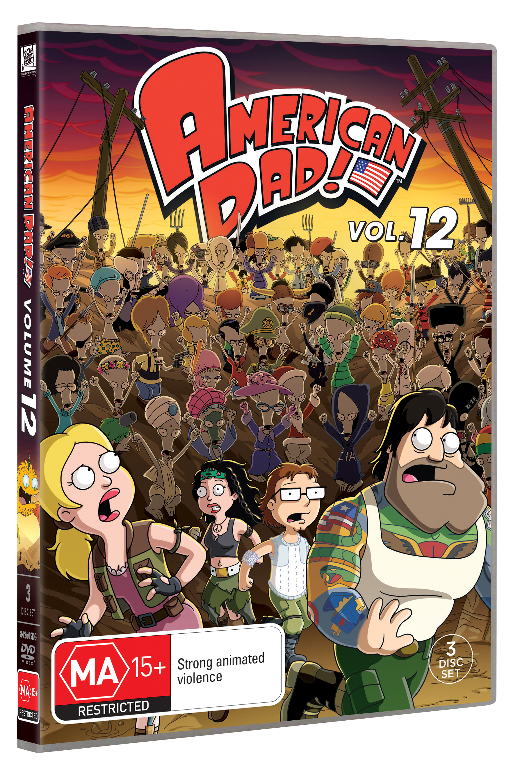 AMERICAN DAD VOLUME 12 DVD