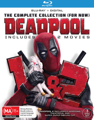 DEADPOOL / DEADPOOL 2 Blu-Ray