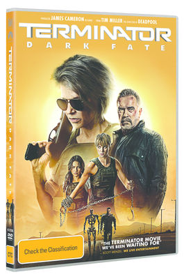 TERMINATOR: DARK FATE (2019) (HEI ONLY) DVD