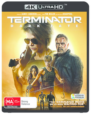 TERMINATOR: DARK FATE (2019)  Blu-Ray