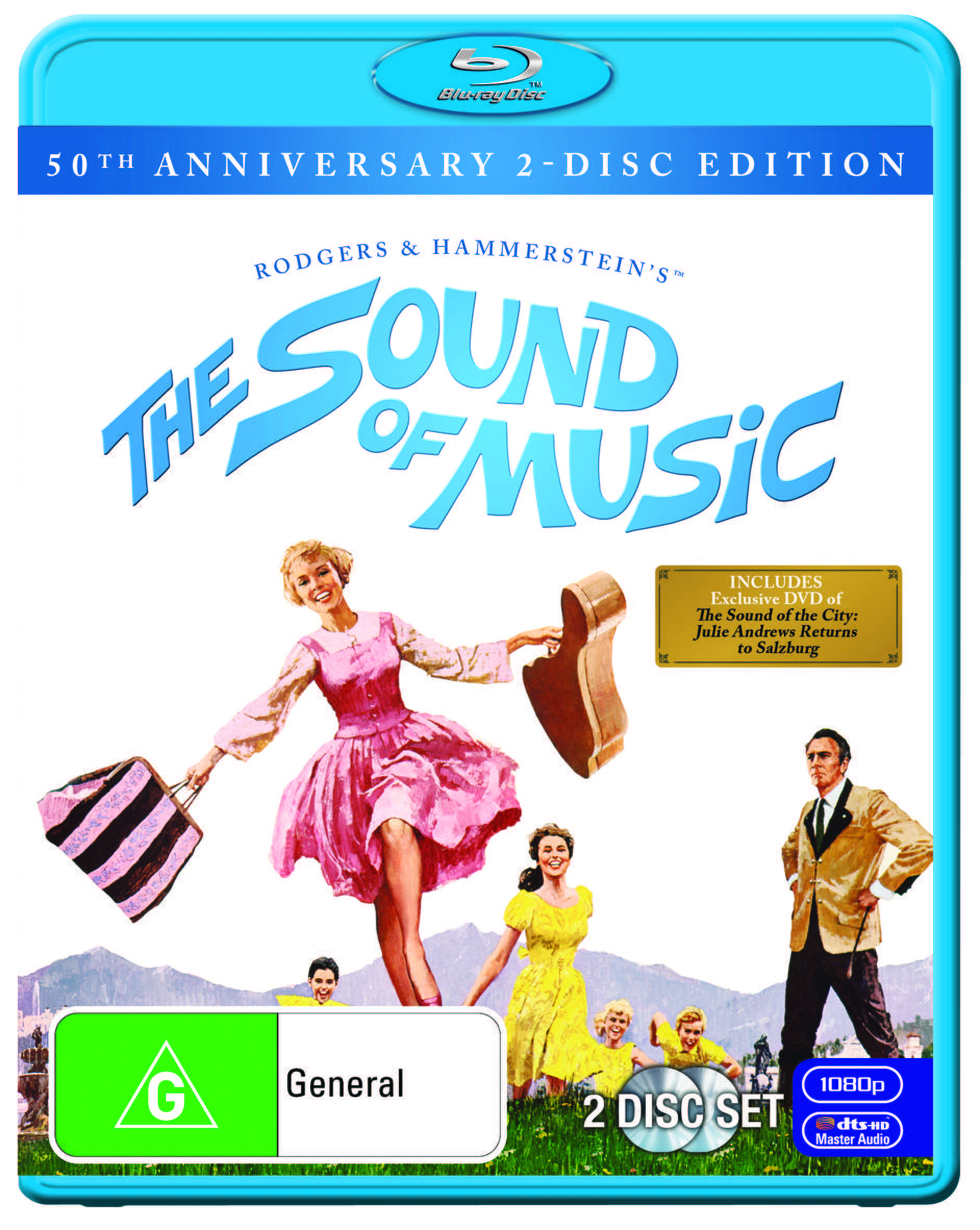 SOUND OF MUSIC 50TH ANNIVERSARY - BLU RAY