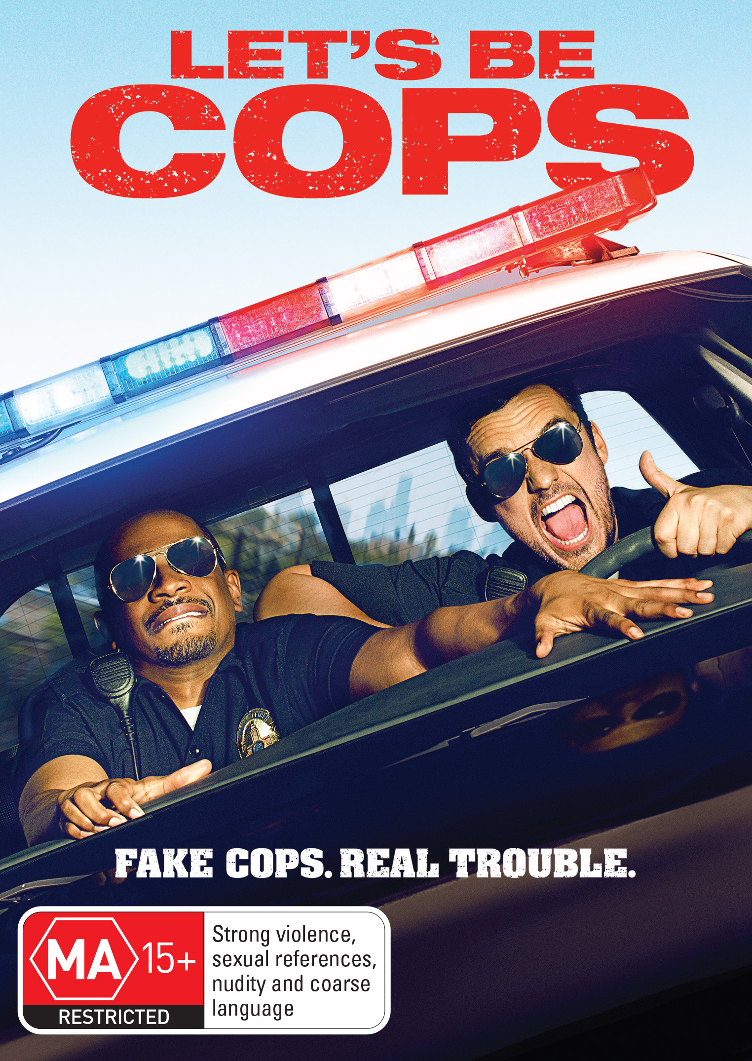 LET'S BE COPS Digital HD