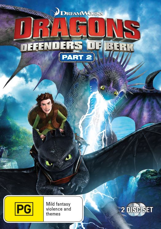 Dragons: Defenders of Berk - Pt 2