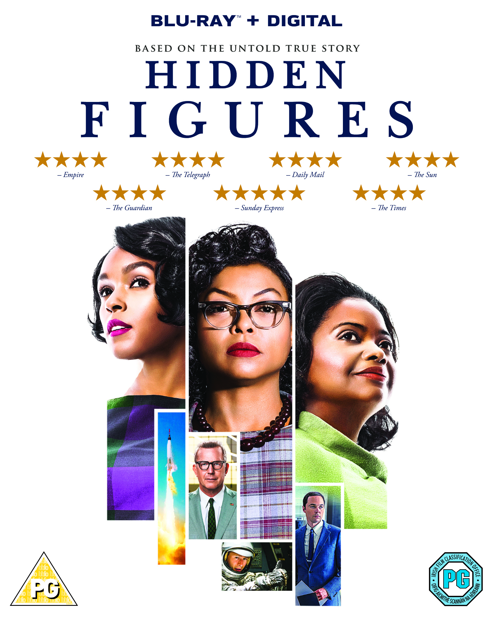 Hidden Figures - Blu Ray