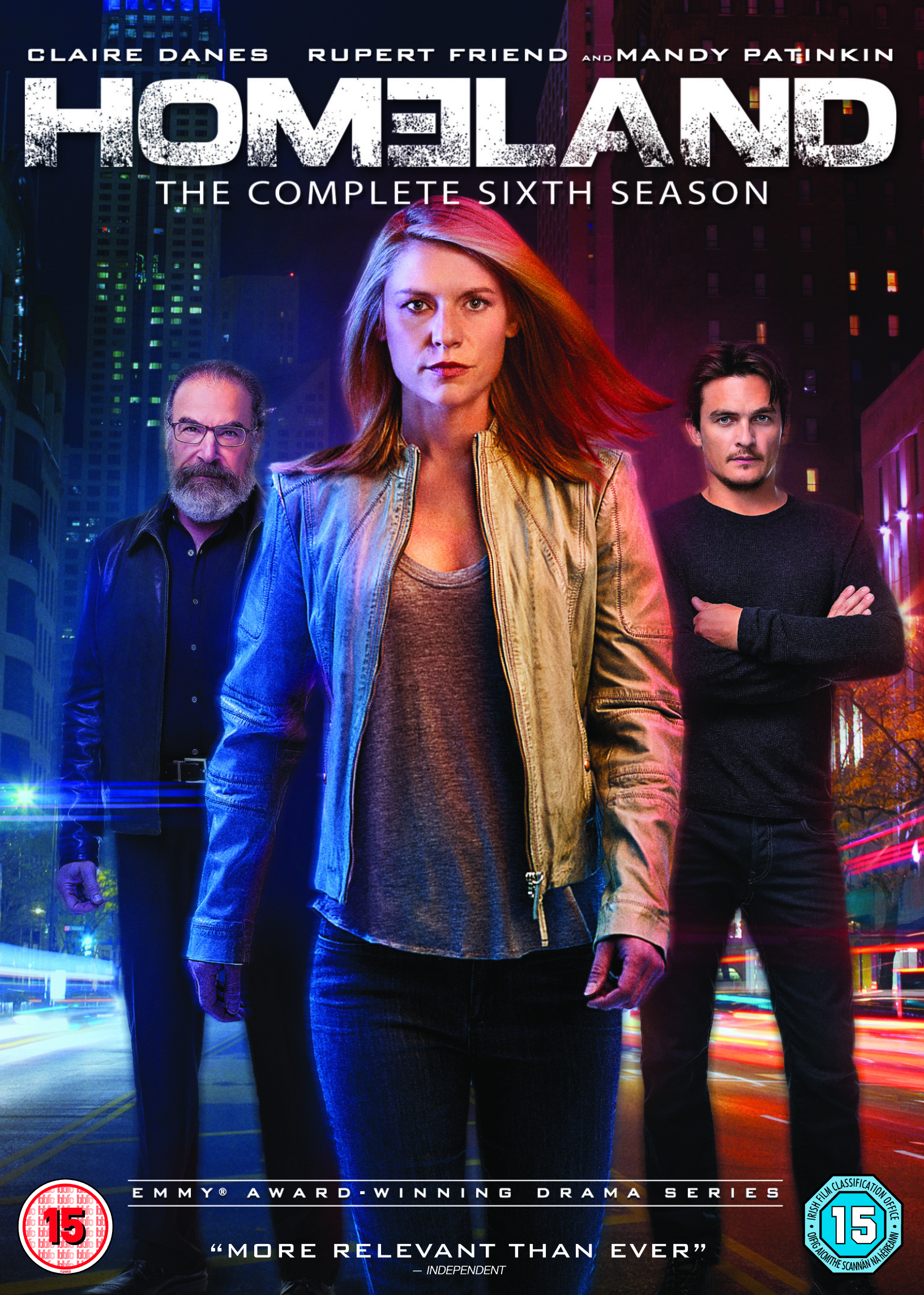 Homeland Season 6 DVD