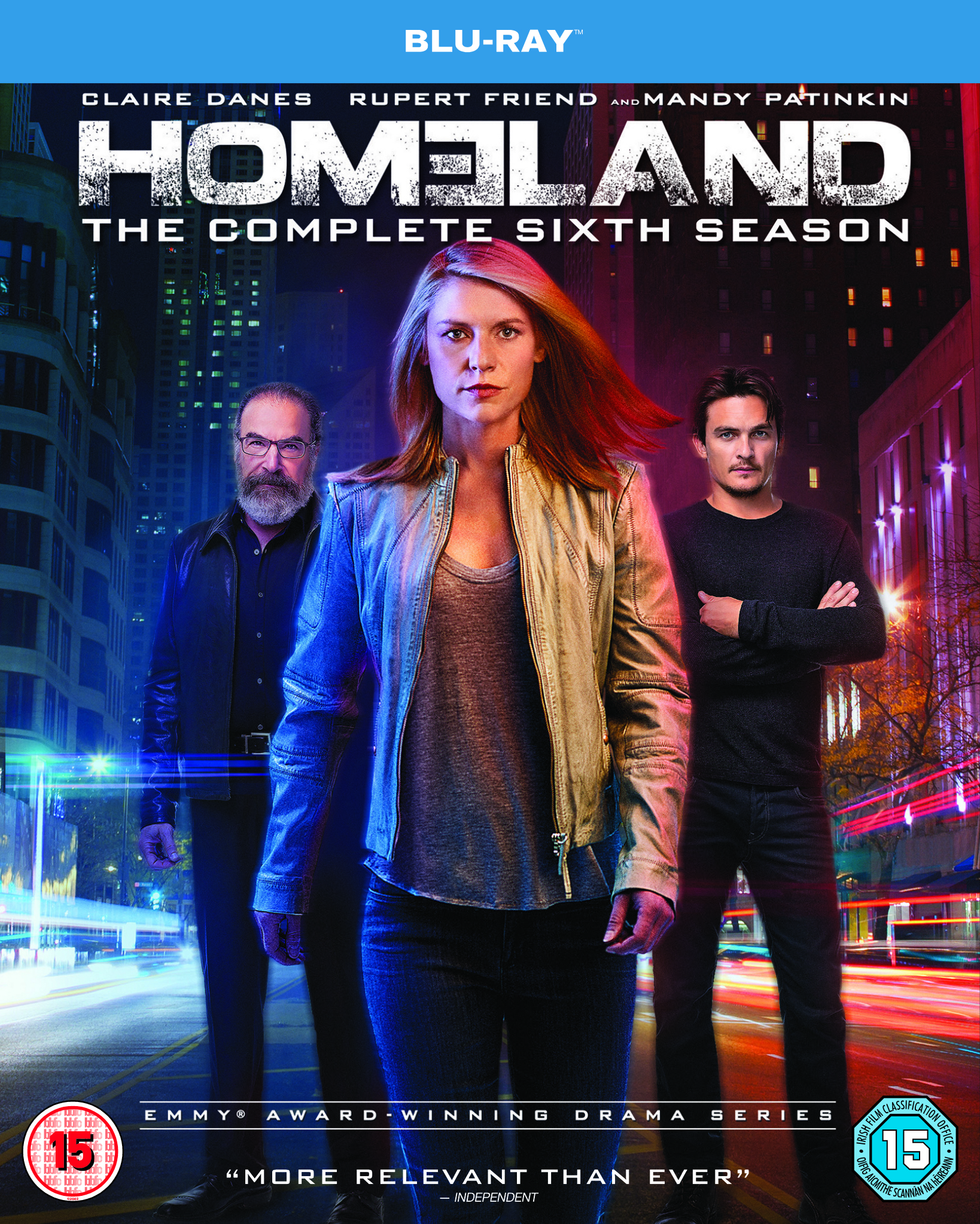 Homeland Season 6 BLURAY