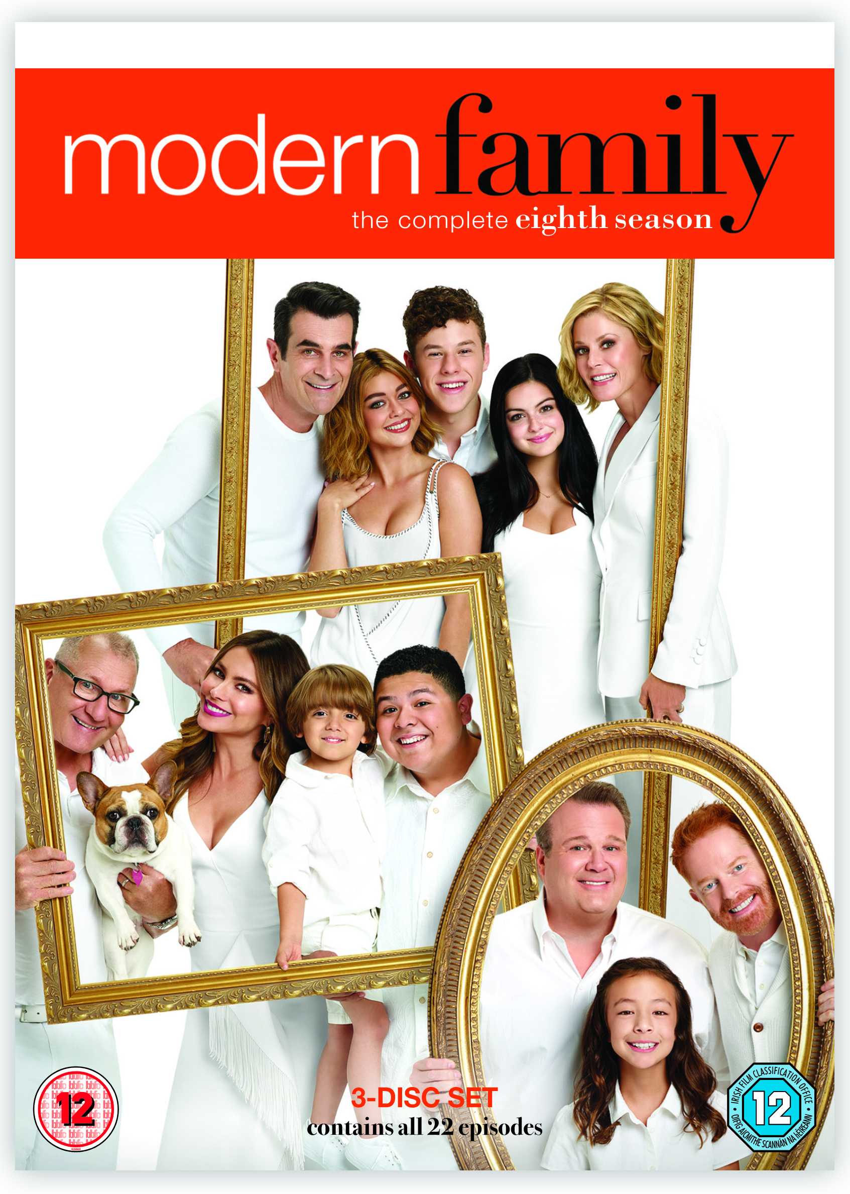 MODERN FAMILY SEASON 8 DVD