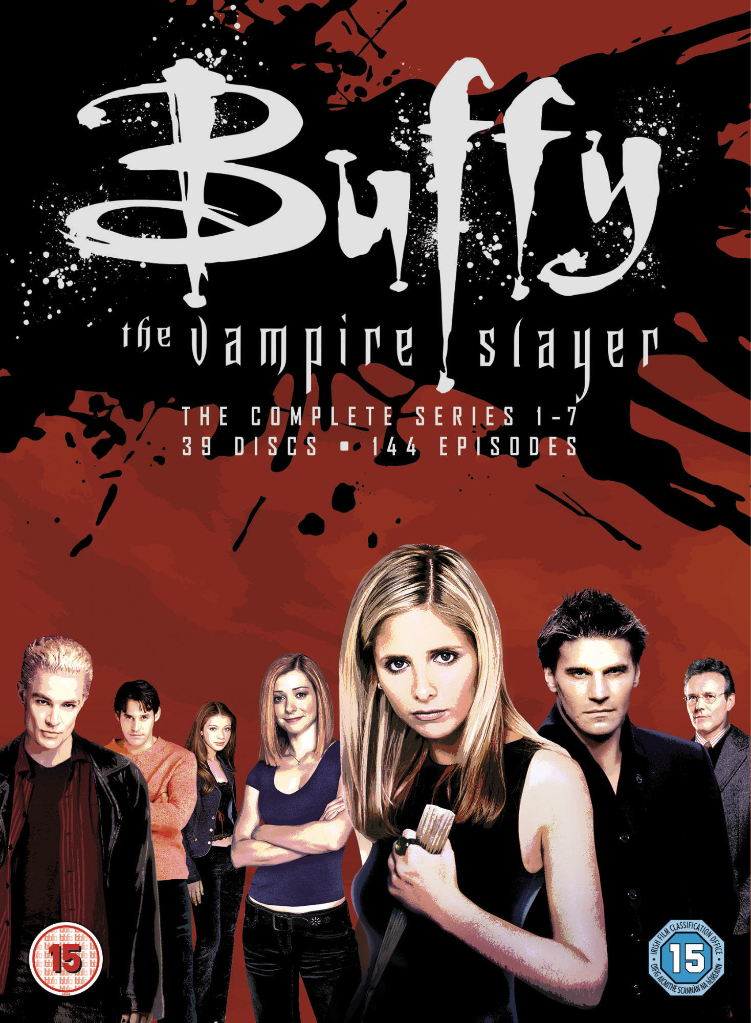 BUFFY THE VAMPIRE SLAYER THE COMPLETE SERIES 1-7 - DVD