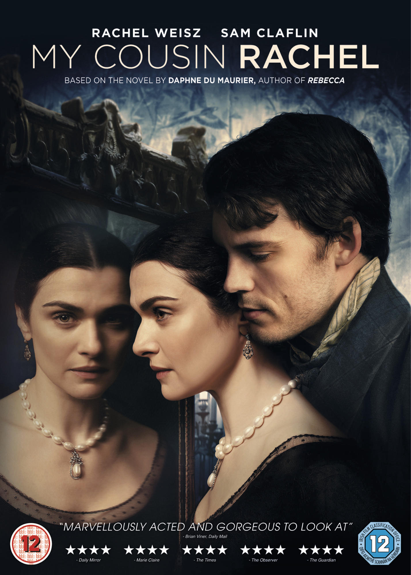 MY COUSIN RACHEL DVD