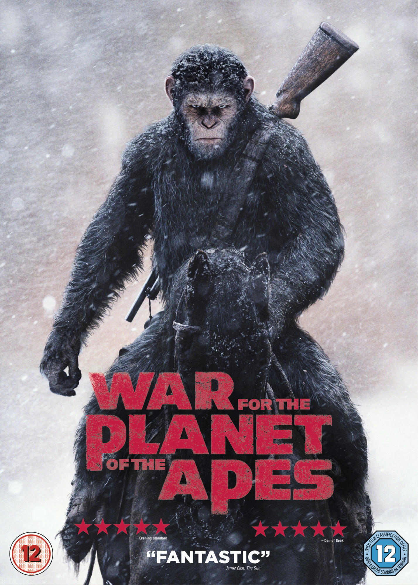 War for Planet of the Apes - DVD