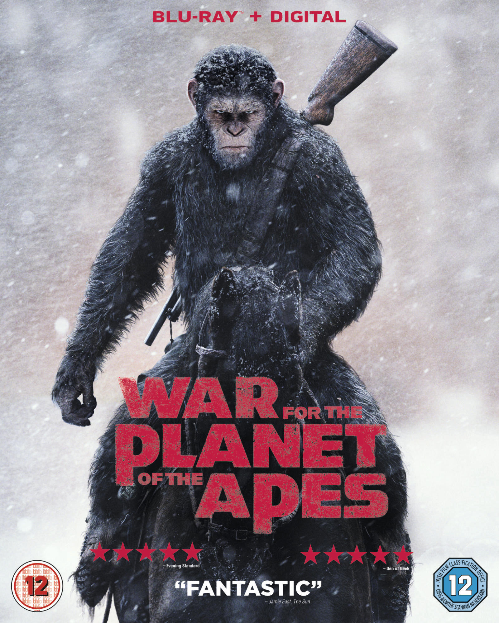 War for the Planet of the Apes - Blu-Ray