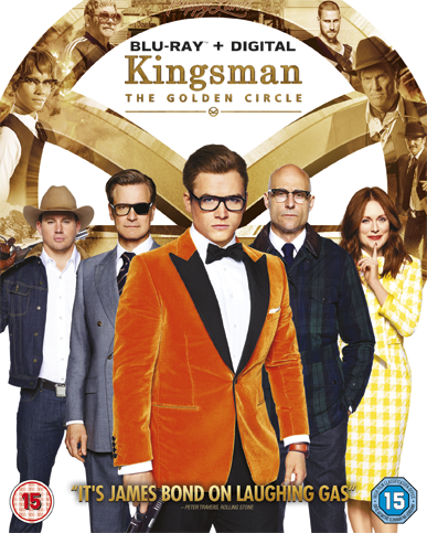 Kingsman The Golden Circle BLU-RAY