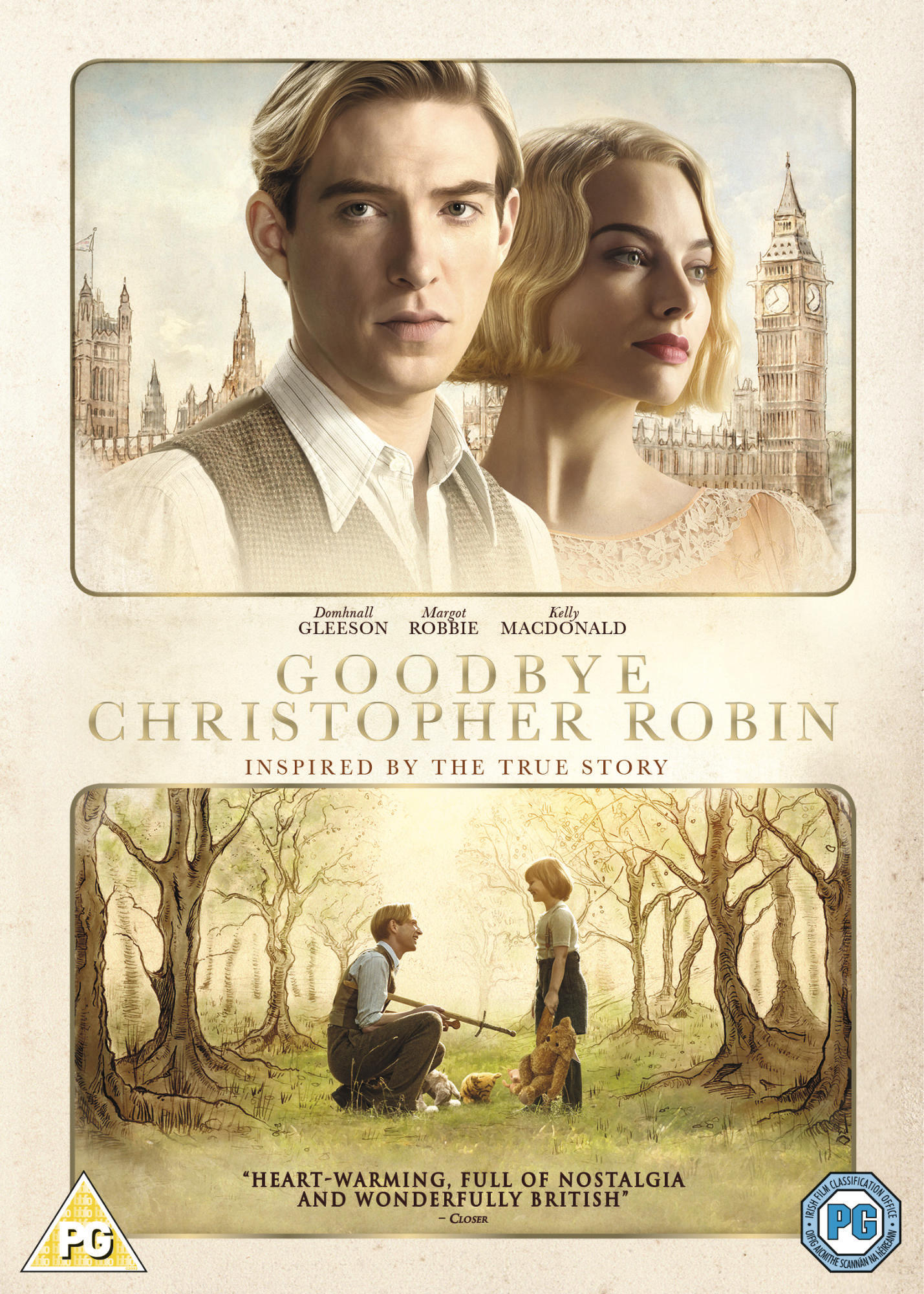 Goodbye Christopher Robin - DVD